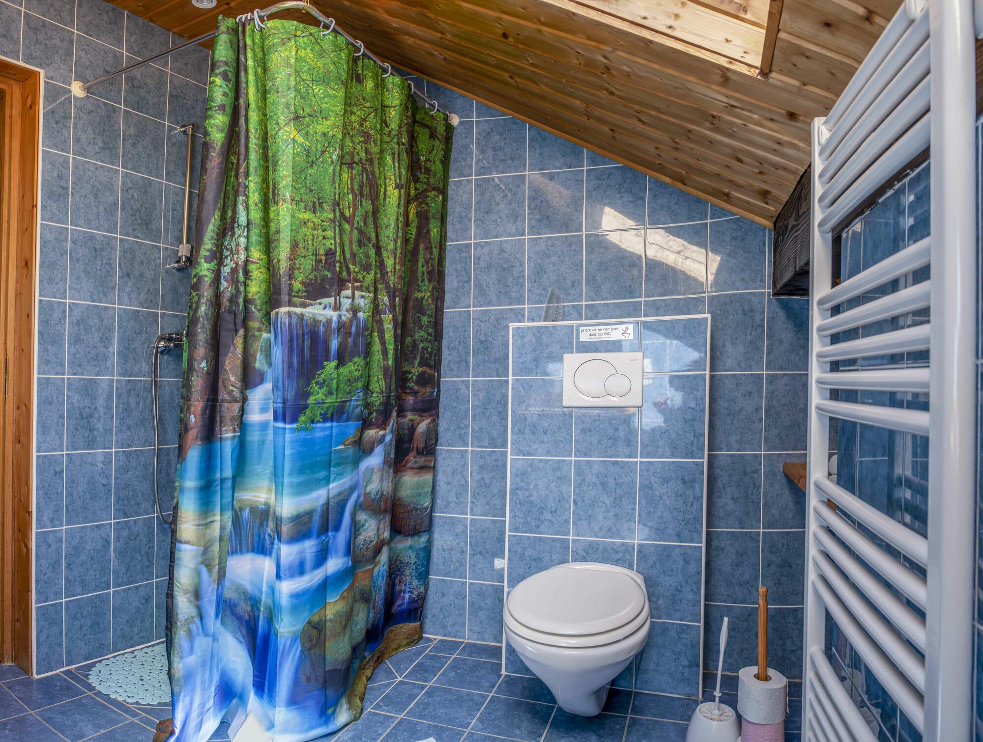 salle de bain a bellegarde maison d'hote