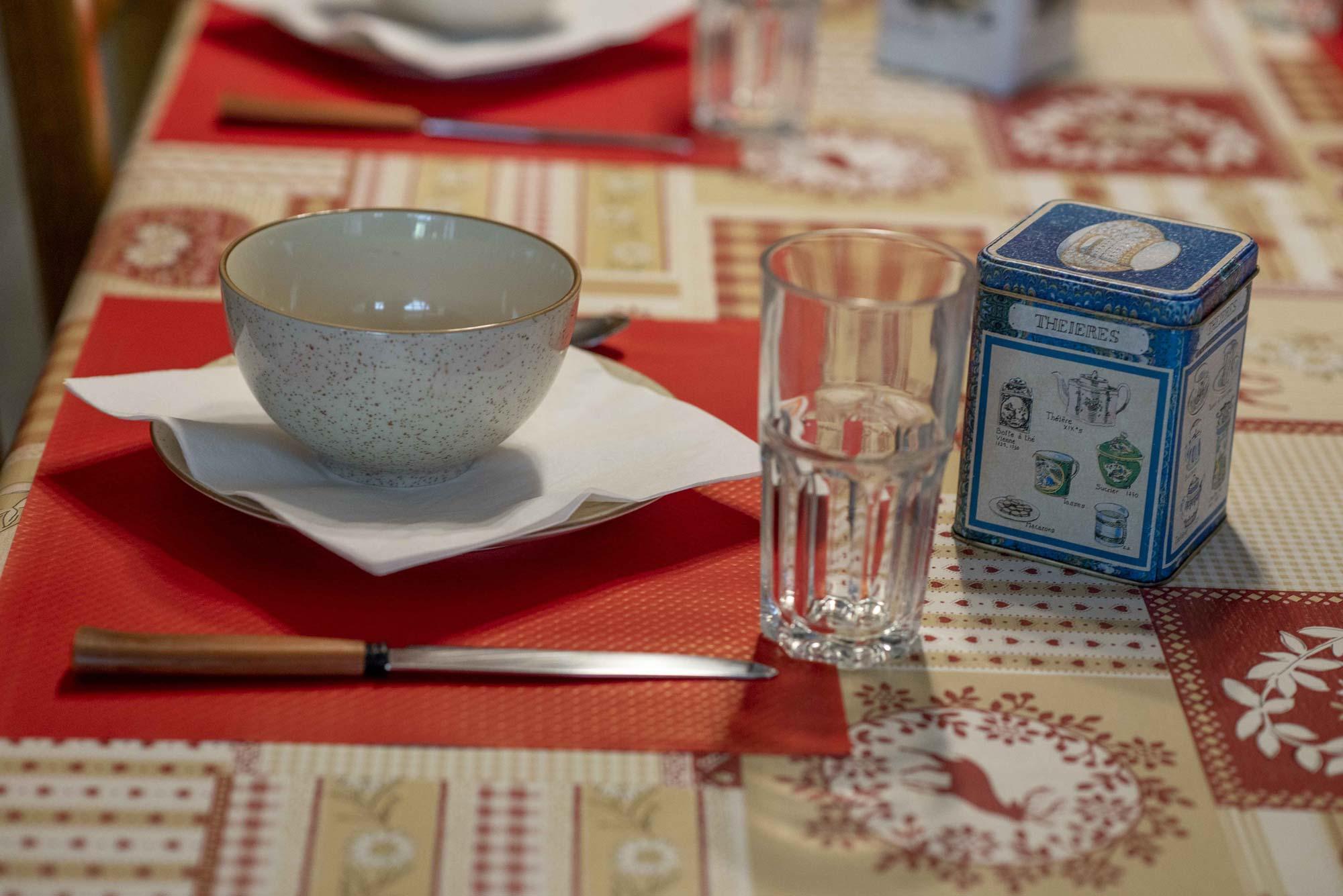 table d'hôte la biolaz